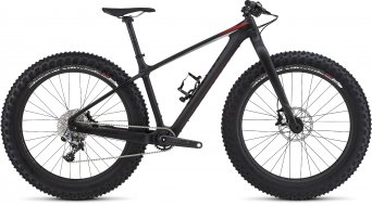 Specialized S-Works Fatboy Carbon 26 Fatbike Komplettbike Gr. XL satin carbon/gloss black/rocket red Mod. 2016