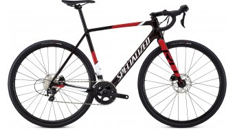 """Specialized Crux Sport 28"""" Cyclocrosser 整车 型号 red tint/metallic white silver/flo red 款型 2019"""