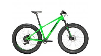 Trek Farley 8 26 Fat bike bike size 36,8cm (14.5) mat wheelioactive green/gloss black 2015