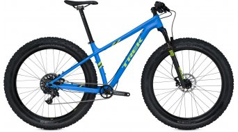 Trek Farley 9 650B/27.5 Fatbike 整车 型号 matte waterloo blue 款型 2016
