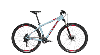 Trek X-Caliber 8 650B / 27.5 MTB Komplettbike Gr. 34.3cm (13.5) powder blue/viper red Mod. 2016
