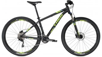 Trek X-Caliber 9 650B/27.5 MTB komplett kerékpár Méret 34.3cm (13.5) matte Trek black/volt green 2016 Modell