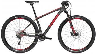 Trek Superfly 9.6 29 MTB bici completa matte carbono smoke/viper rojo Mod. 2016