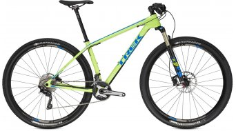 Trek Superfly 9.7 29 MTB komplett kerékpár volt green/waterloo blue 2016 Modell