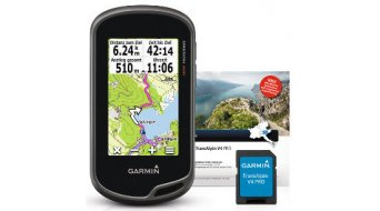 Garmin Oregon 600 GPS + Trans Alpin V4 PRO Bundle microSD 2014