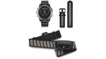 Garmin fenix 3 GPS Multisportuhr Performer Bundle incl. Premium HRM-Run correa de pecho (Saphirglas)