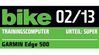 Garmin Edge 500 HR GPS-Fahrradcomputer inkl. Textil Brustgurt & GSC 10 Trittfrequenzsensor rot/schwarz