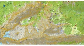 Garmin Montana 600 GPS-Navigationsgerät + Topo Deutschland 2012 Pro microSD