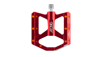 Azonic Wicked RL pédales red Mod. 2016