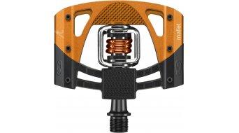 Crank Brothers Mallet 2 Klick-pedales negro(-a)/naranja Mod. 2016