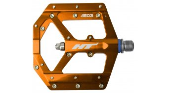 HT Evo AE 03 Flat Pedale orange