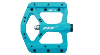 HT Air Evo ME 01 Magnesium Flat Pedale blue (neon)