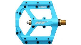 HT Air Evo ME 03T Magnesium Titan Flat Pedale blue (neon)