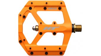 HT Air Evo ME 03T Magnesium Titan Flat Pedale orange