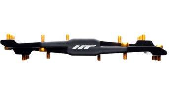 HT Air Evo ME 03 dientes Magnesio Titan Flat pedales negro