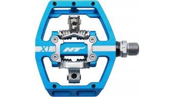 HT DH-Race X1 pedales azul