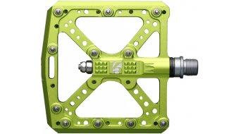 HT Evo KA 01 Flat Pedale green