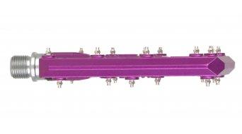 HT Evo KA 01 Flat pedales purple