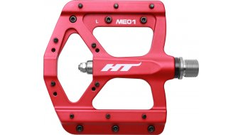 HT Air Evo ME 01 Magnesium Flat Pedale red