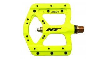 HT Air Evo ME 01T Magnesium Titan Flat Pedale yellow