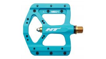 HT Air Evo ME 01T Magnesium Titan Flat Pedale blue (neon)