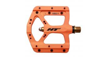 HT Air Evo ME 01T Magnesium Titan Flat Pedale orange