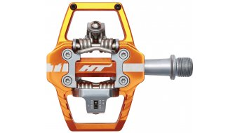 HT Enduro T1 Pedale orange
