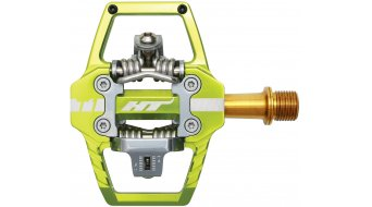 HT Enduro T1T Titan Pedale apple green