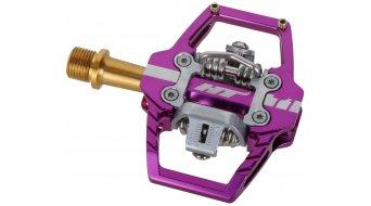HT Enduro T1T Titan pedales purple