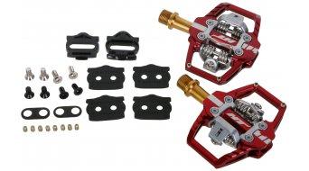 HT Enduro T1T Titan pedales rojo