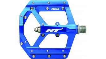 HT Evo AE 03 Flat pedales azul