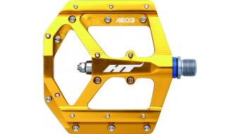 HT Evo AE 03 Flat pedales dorado(-a)
