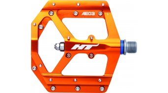 HT Evo AE 03 Flat pedales naranja