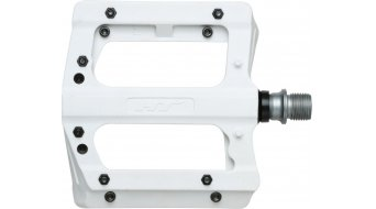 HT Nano-P PA 12 Adjustable Flat Pedale white