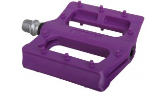 HT Nano-P PA 12 Flat pedales purple
