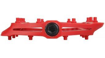 HT Nano-P PA 12 Flat Pedale red