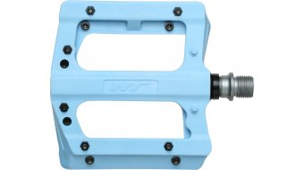 HT Nano-P PA 12 Adjustable Flat Pedale blue