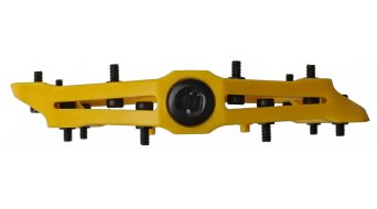 HT Nano-P PA 12 Adjustable Flat Pedale yellow