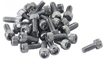 Reverse acciaio pins di ricambio per Escape Pro. Black One (32pz.) argento