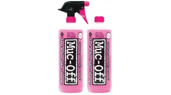 Muc-Off Bike Cleaner detergente Twinpack 2x1 Liter incl. Trigger + Capped
