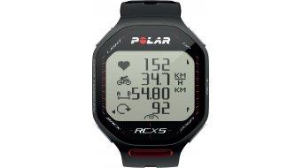 Polar RCX 5 Bike Computer nero mod. 2012- TESTGERÄT senza accessori e batteria !