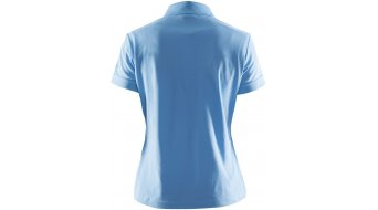Craft Pique Classic Polo 短袖 女士 Poloshirt 型号 XXXL aqua
