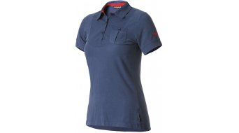 Maloja Women ElisabethM. short sleeve Polo- shirt size L denim