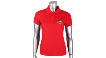 Rocky Mountain Craft Pique Logo Polo manica corta da donna-Polo . red