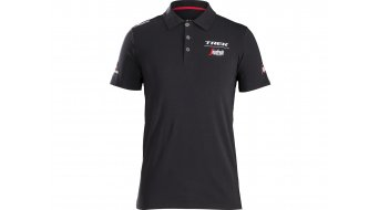 Santini Trek-Segafredo Poloshirt 男士 短袖 型号 black 款型 2018