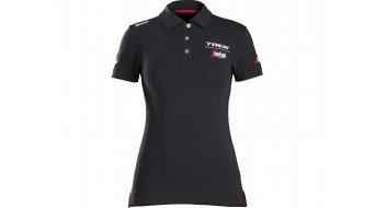 Santini Trek-Segafredo Poloshirt Women 短袖 型号 black 款型 2018