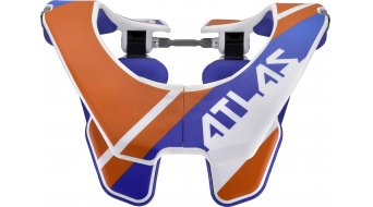 Atlas Prodigy Neck Brace Jugend protector de nuca tamaño unisize naranja Slant
