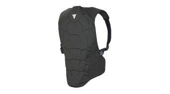 Dainese Soft Flex paraschiena Back Protector . black/green-flash