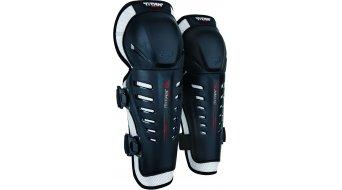 Fox Titan Race Protector rodilla-espinilla niños MX-Protector rodilla-espinilla Youth tamaño unisize negro