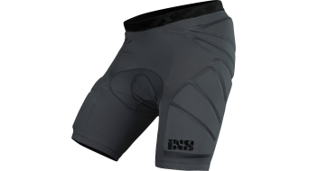 iXS Hack 骑行保护裤 短 型号 grey 款型 2019